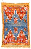 SemiAntique Moroccan Rug Morocco 33 x 52