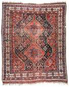 Antique Afshar Rug Persia 52 x 65