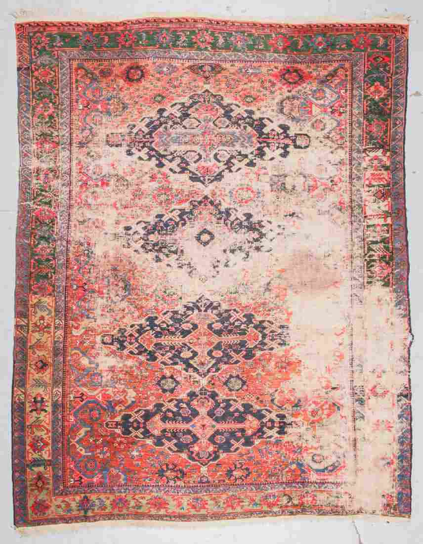 Antique Sumak Rug, Caucasus: 8'3'' x 10'9''
