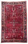Antique Sarouk Rug Persia 45 x 67
