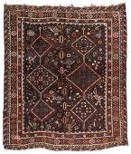 Antique Afshar Rug, Persia: 5'5'' x 6'5''