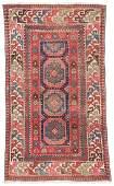 Antique Caucasian Rug 34 x 59