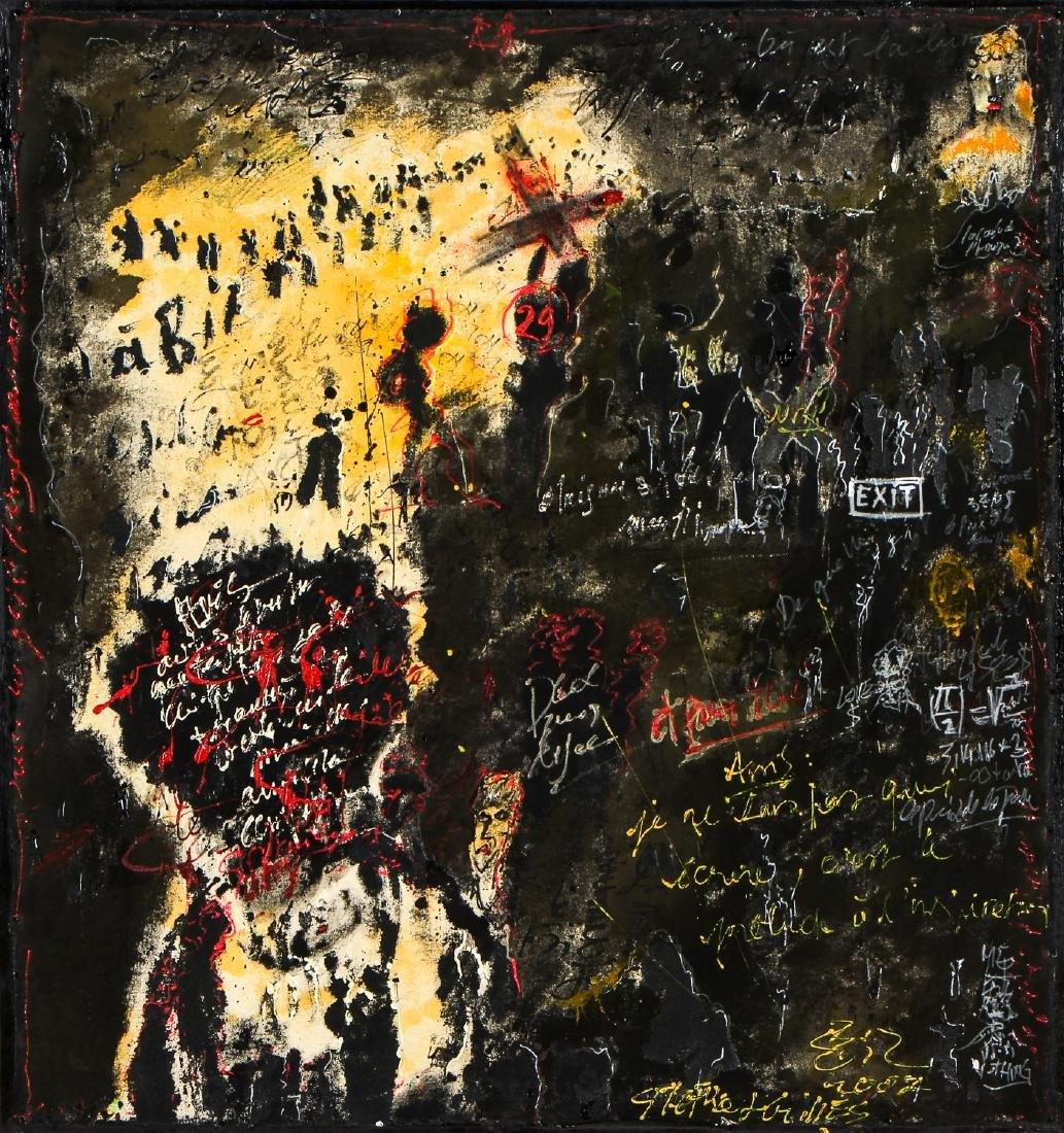 """Gilles Rieu (b. 1953) """"Why"""""""
