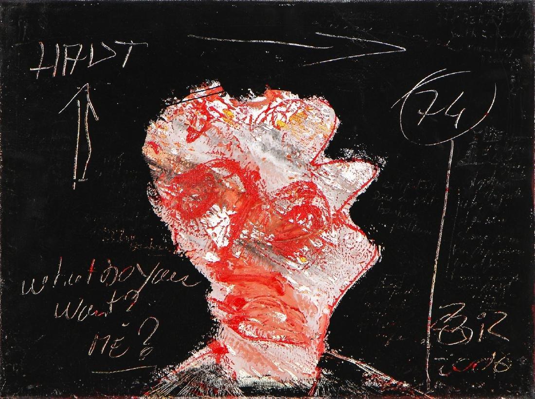 """Gilles Rieu (b. 1953) """"... Do you want me?"""""""