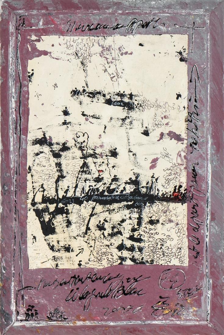 """Gilles Rieu (b. 1953) """"Blood Money"""", 2004"""
