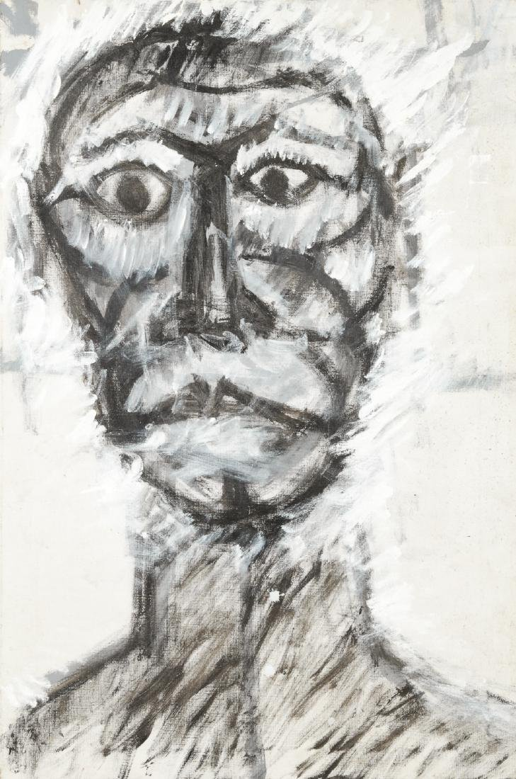 Earl Wilkie (1930-2009) Portrait of a Man