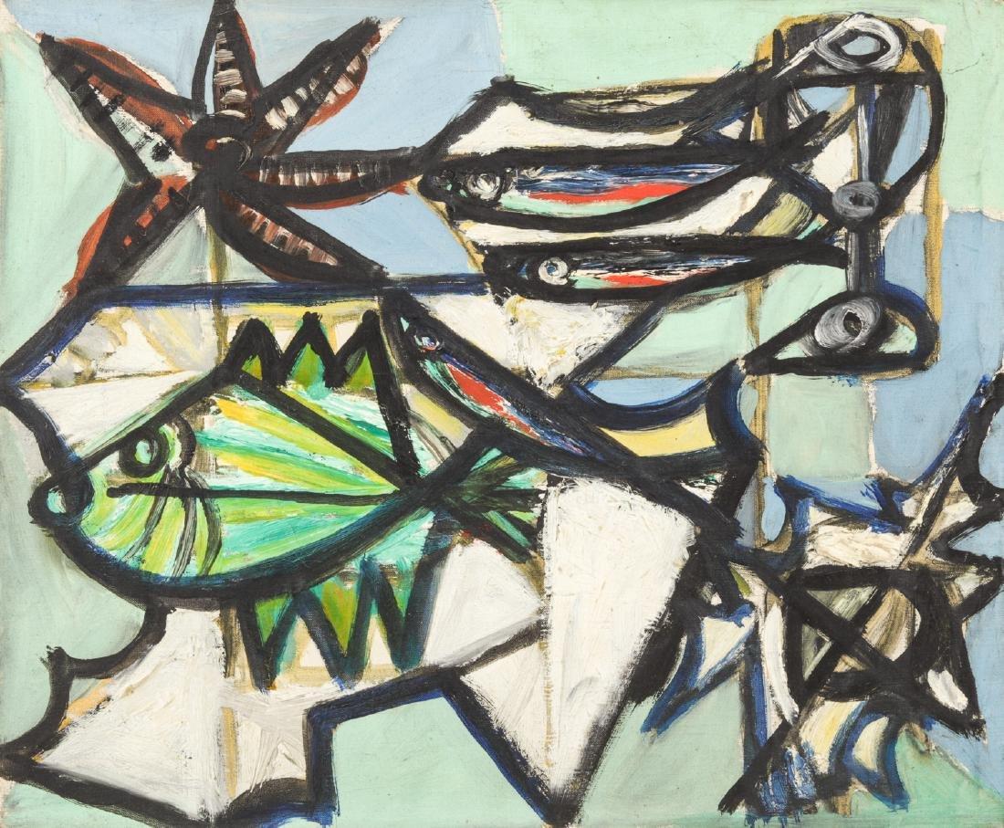 """Michel Patrix (1917-1973) """"Nature Morte Maritime"""""""