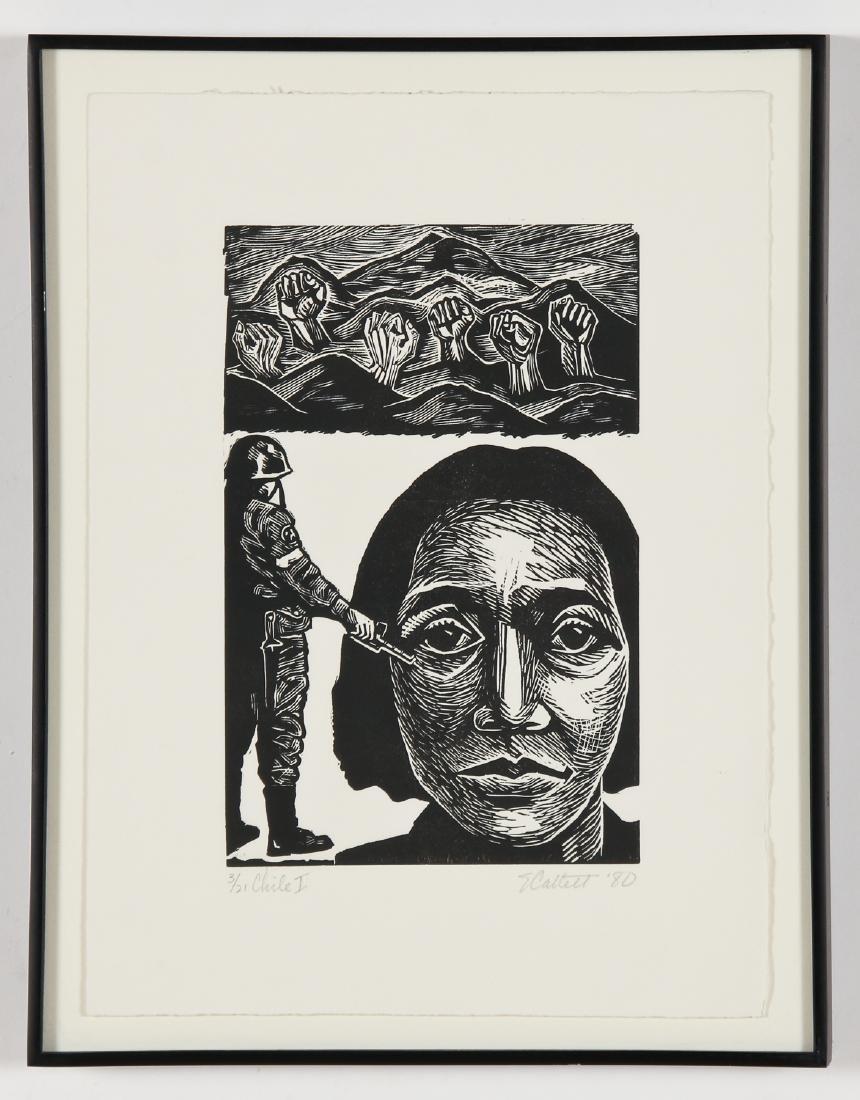 "Elizabeth Catlett (American, 1915-2012) ""Chile I"", 1980"