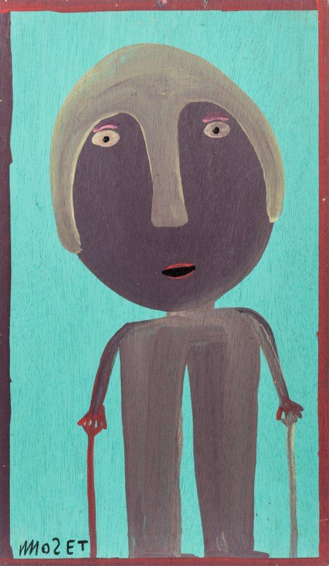 "Mose Tolliver (1925-2006) ""Self Portrait"""