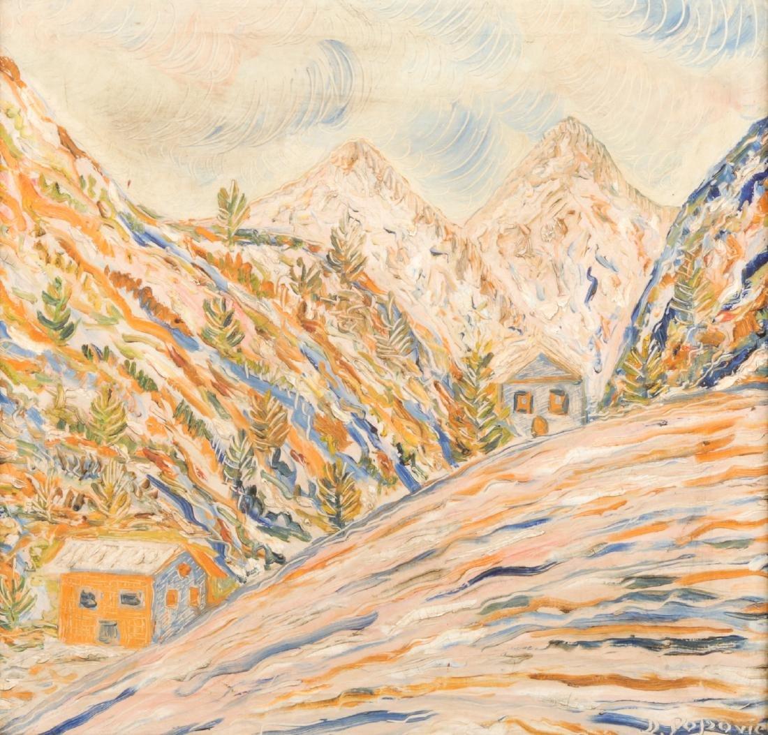 Dimitrije Popovic (Croation, b. 1951) Landscape