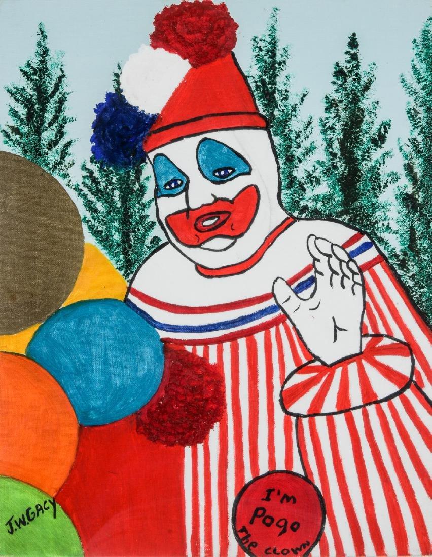"John Wayne Gacy (1942-1994) ""Pogo the Clown"""