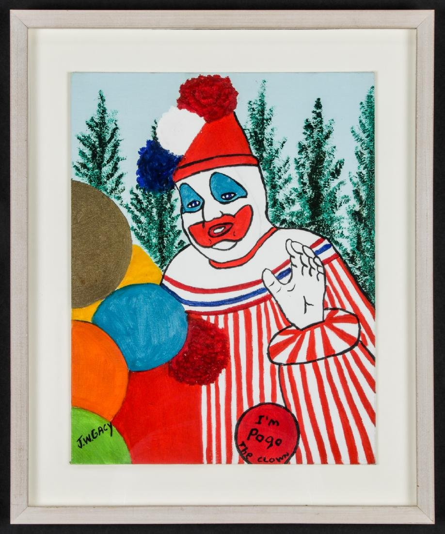 "John Wayne Gacy (1942-1994) ""Pogo the Clown"" - 2"