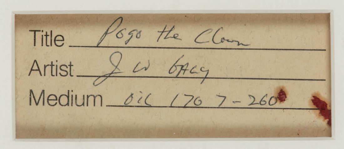 "John Wayne Gacy (1942-1994) ""Pogo the Clown"" - 7"