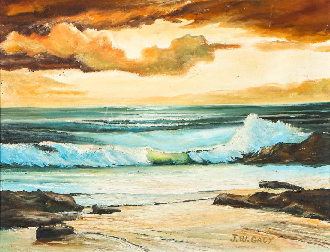 John Wayne Gacy (American, 1942-1994) Landscape