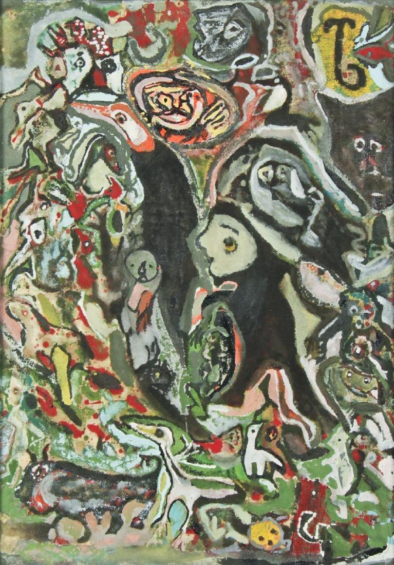 Leonard Daley (Jamaican, 1930-2006) Painting