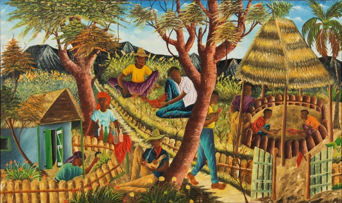 Gesner Abelard (Haitian/Port-au-Prince, b. 1922)