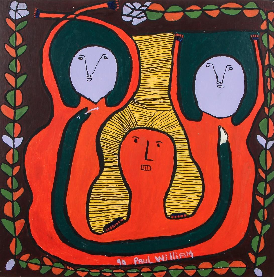 Saint Soleil Movement (Haitian, 20th c.) Painting