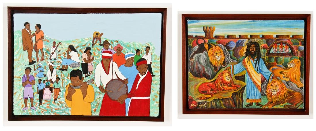 Two Works by Jamaican Artists: Evadney Cruickshank and