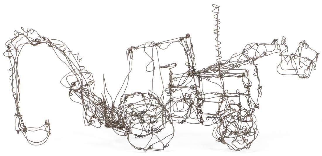 Thai Varick (1941-2001) Backhoe Wire Sculpture