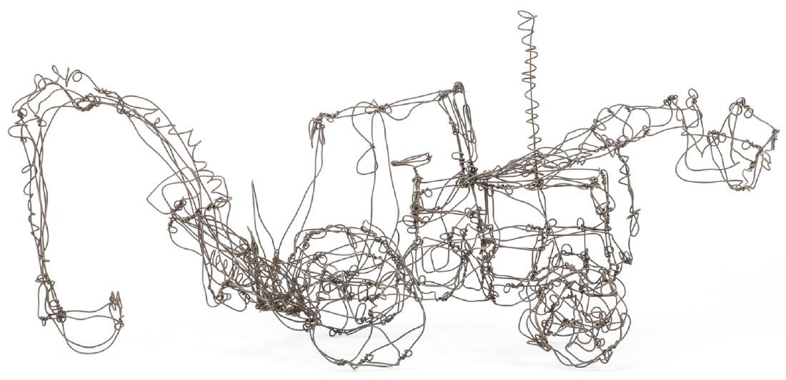 Thai Varick (1941-2001) Backhoe Wire Sculpture