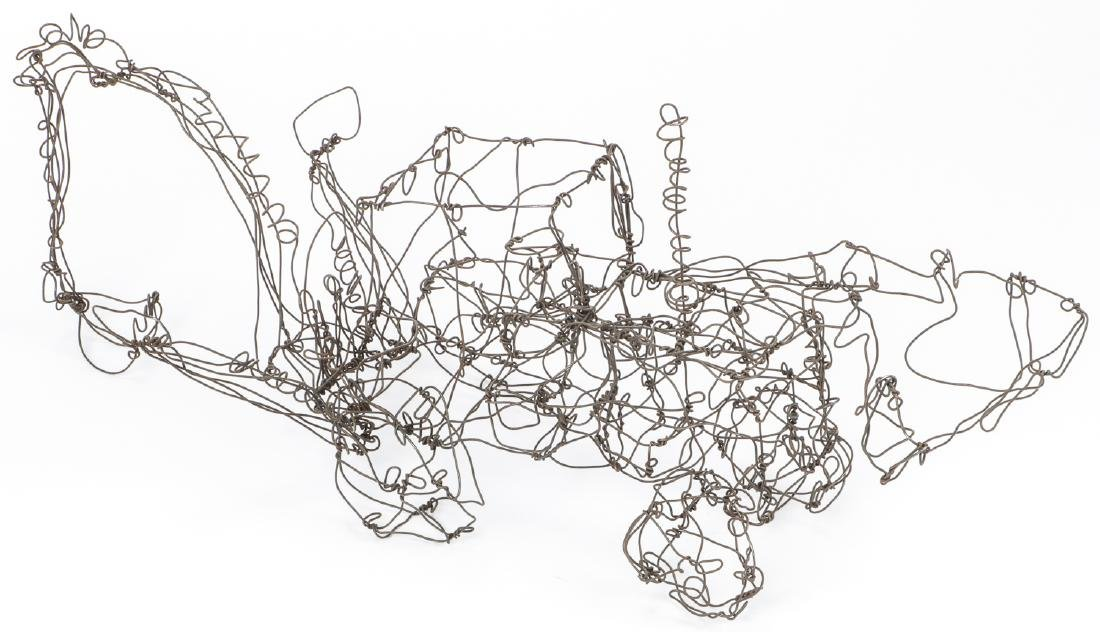 Thai Varick (1941-2001) Backhoe Wire Sculpture - 3