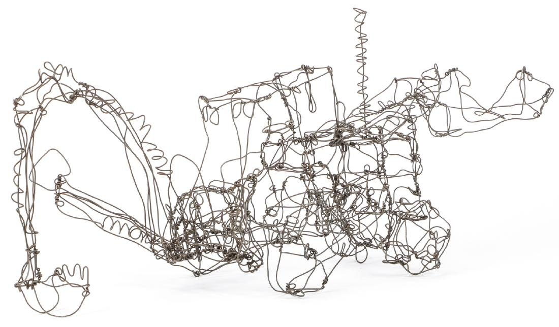 Thai Varick (1941-2001) Backhoe Wire Sculpture - 4