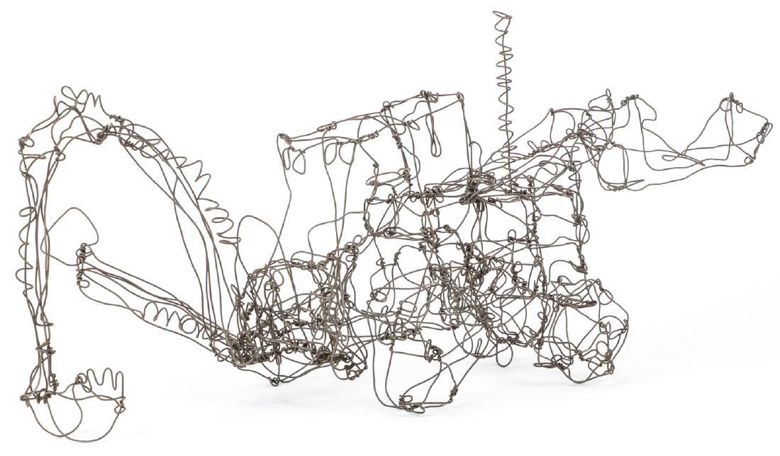 Thai Varick (1941-2001) Backhoe Wire Sculpture - 4