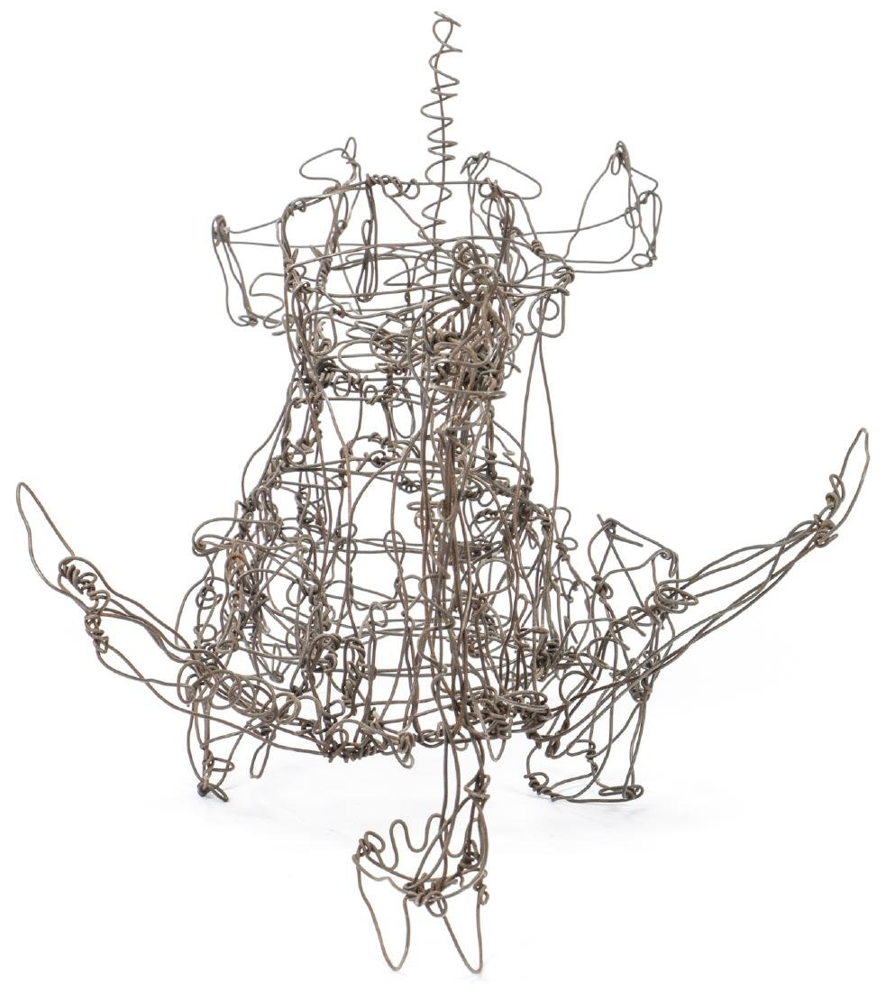 Thai Varick (1941-2001) Backhoe Wire Sculpture - 5