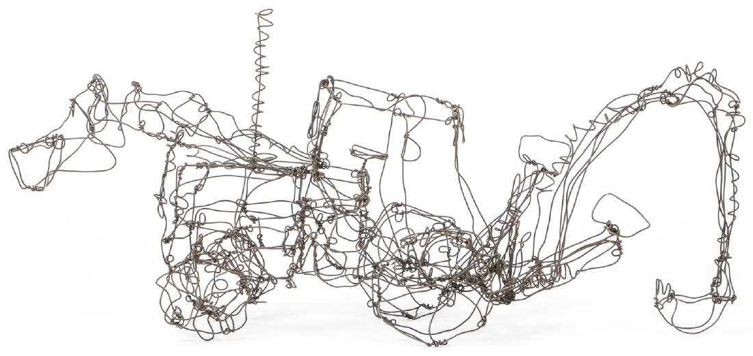 Thai Varick (1941-2001) Backhoe Wire Sculpture - 6