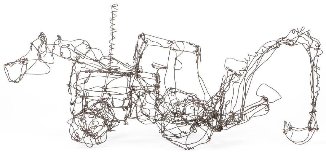 Thai Varick (1941-2001) Backhoe Wire Sculpture - 6