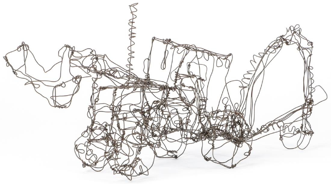 Thai Varick (1941-2001) Backhoe Wire Sculpture - 7