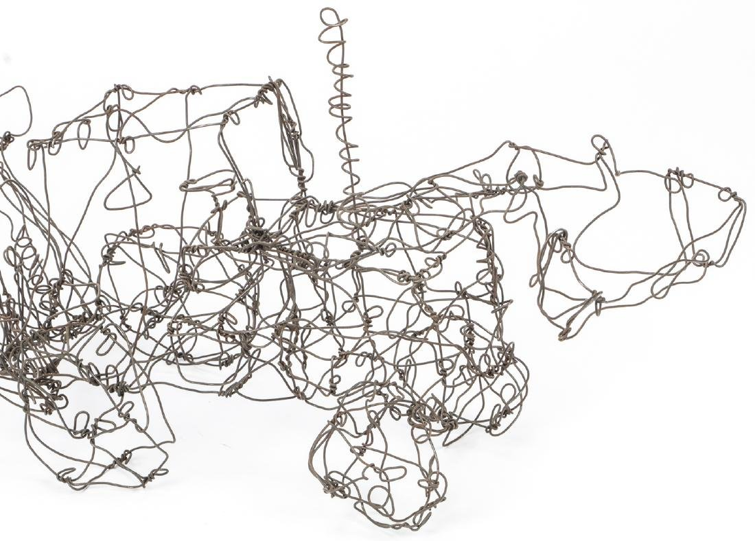 Thai Varick (1941-2001) Backhoe Wire Sculpture - 8