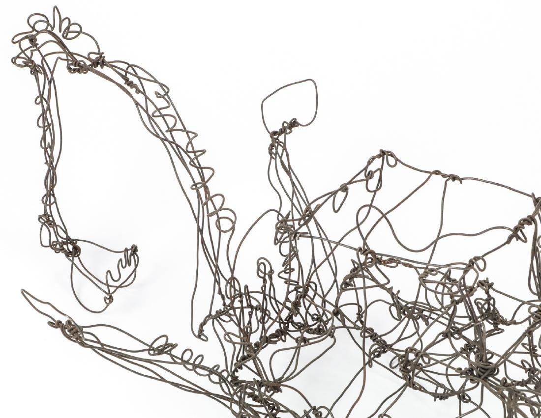 Thai Varick (1941-2001) Backhoe Wire Sculpture - 9