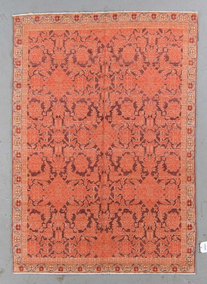 Oushak Style Rug: 5' x 7'1''