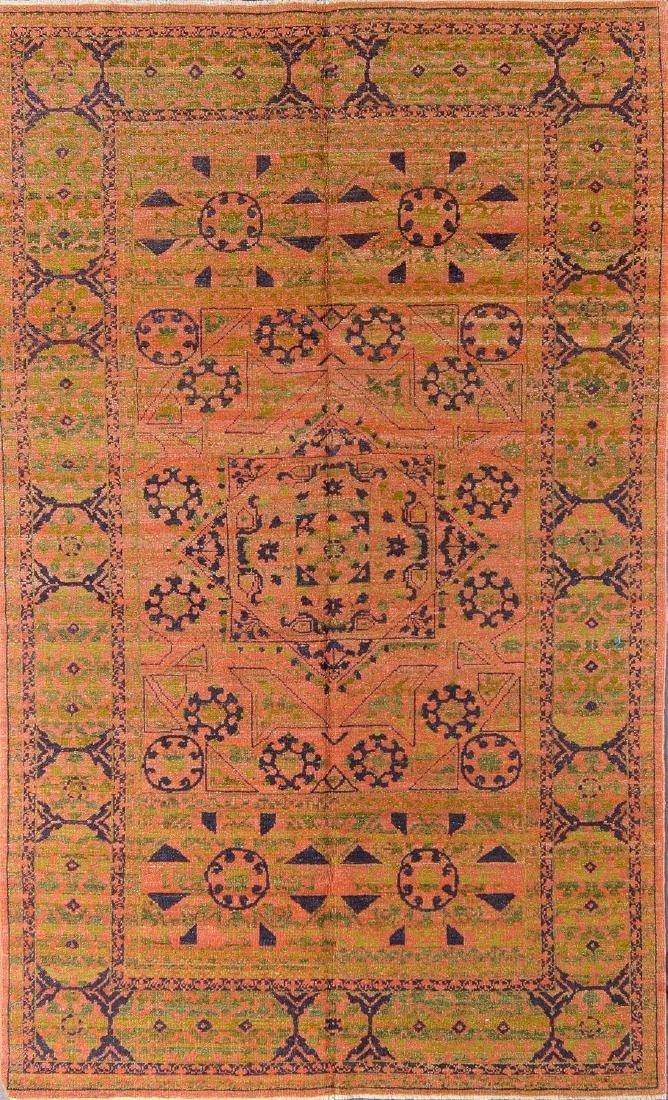 Mamluk Rug: 5' x 8'4''