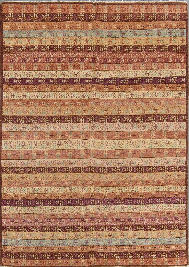 Fine Khotan Style Rug: 4'8'' x 6'7''