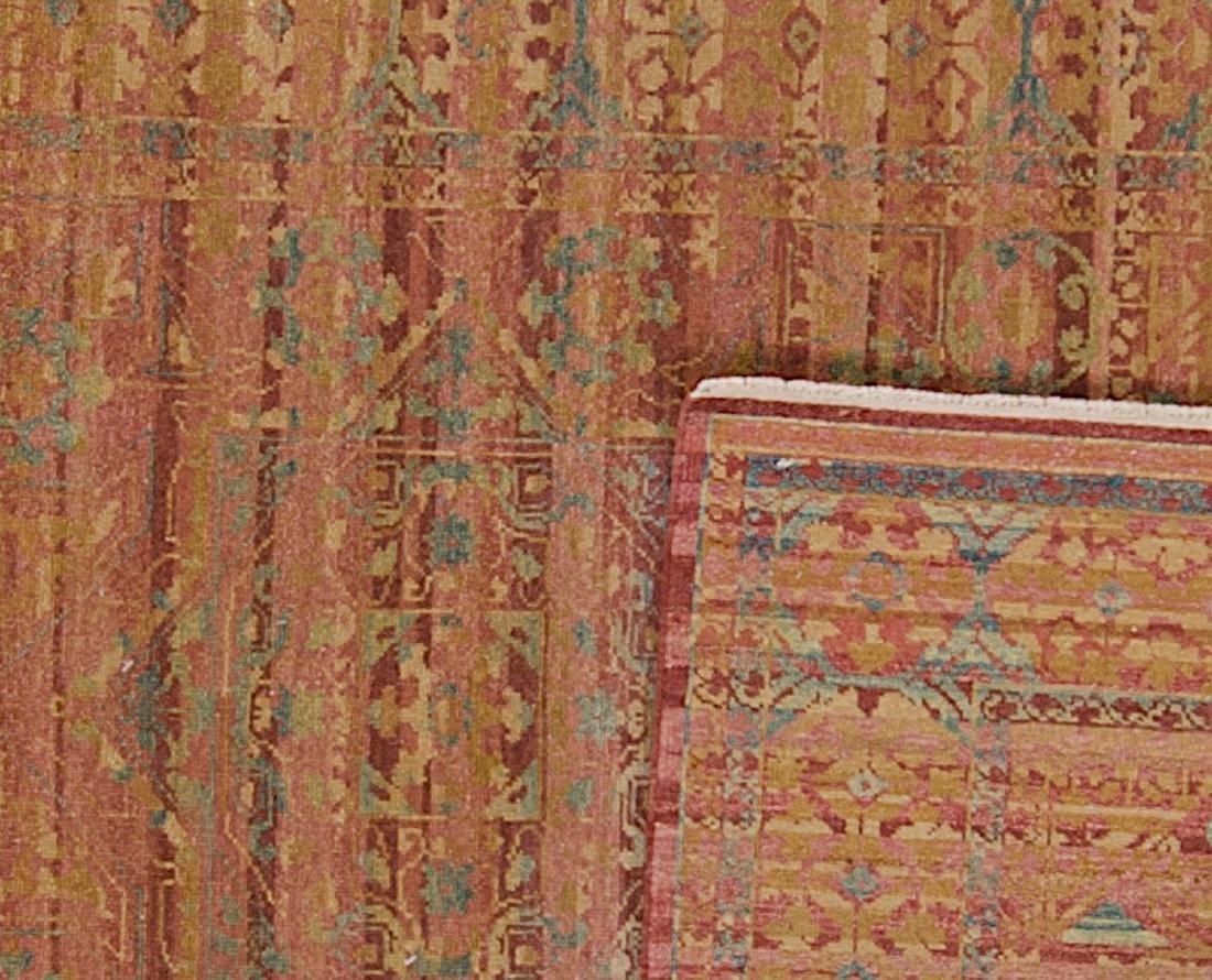 Fine Mamluk Rug: 3'11'' x 6'2'' - 2