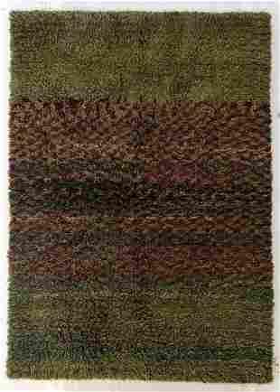 Modern Moroccan Style Shag Rug 52 x 72