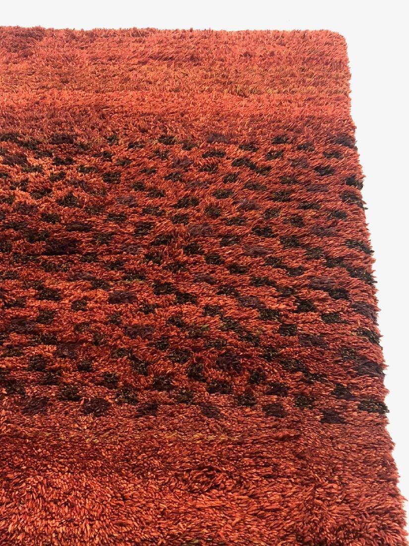 Modern Moroccan Style Shag Rug: 5' x 6'9'' - 2