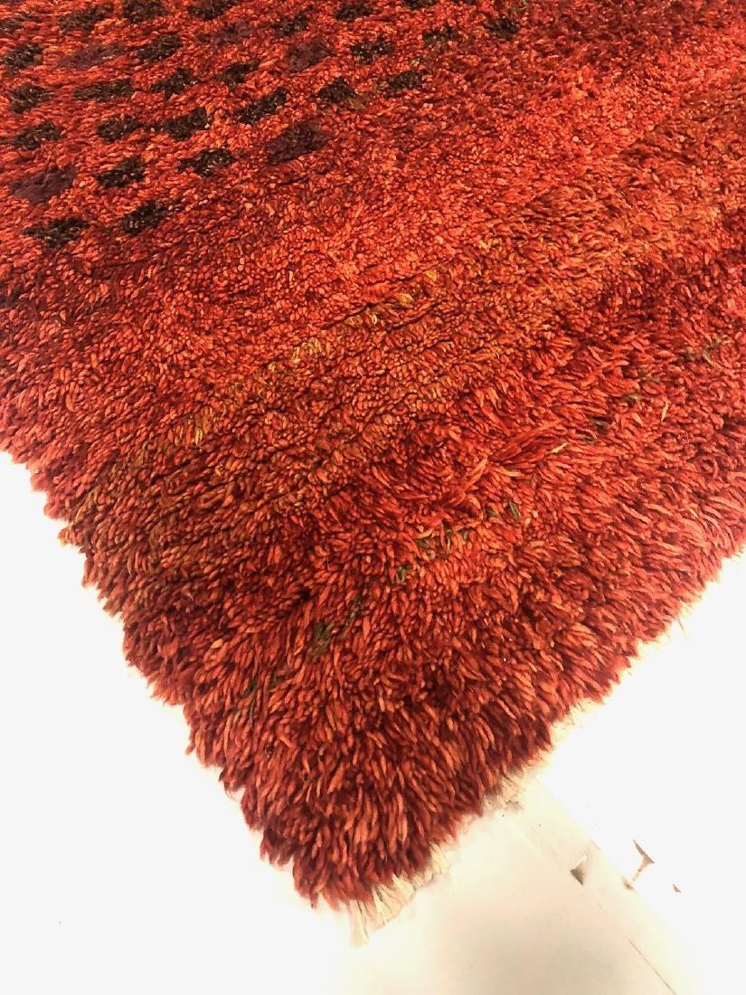 Modern Moroccan Style Shag Rug: 5' x 6'9'' - 5