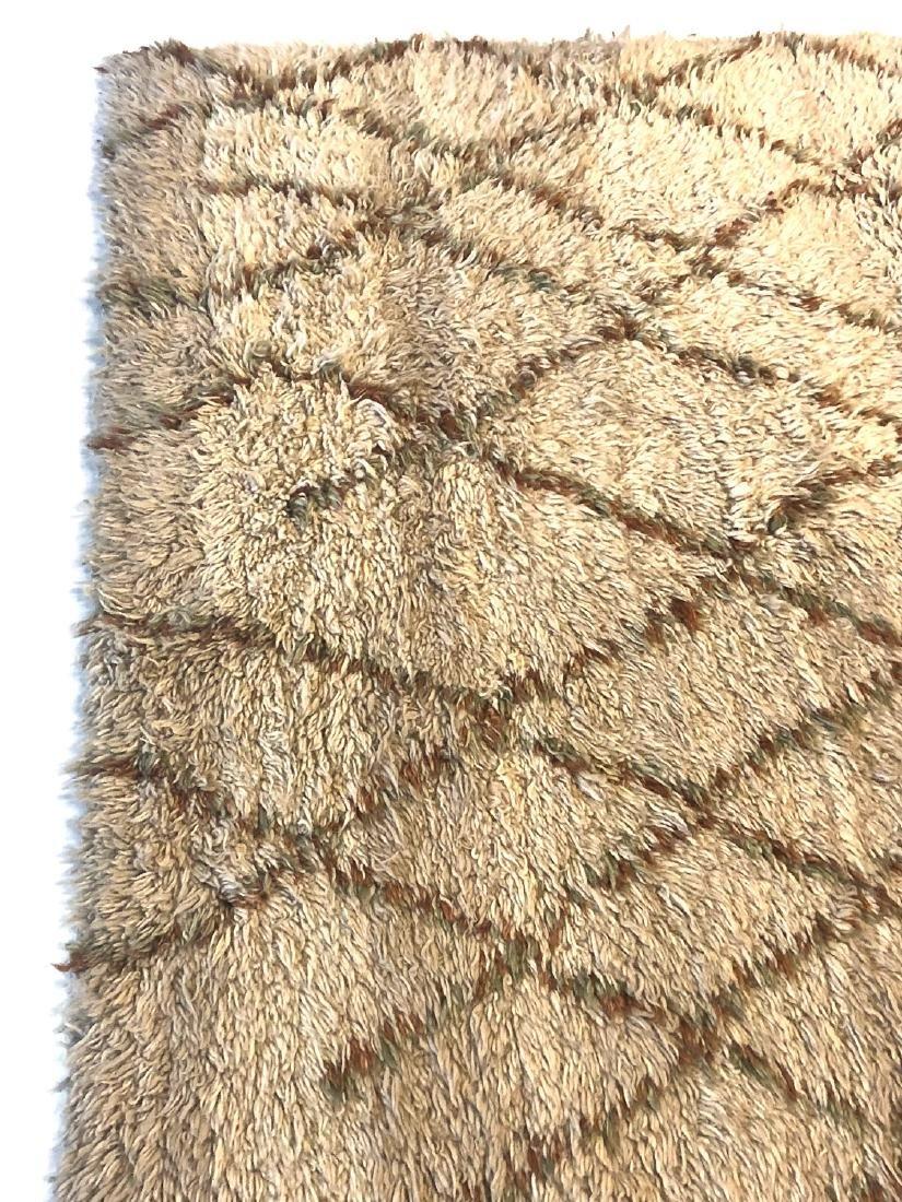 Modern Moroccan Style Shag Rug: 4'11'' x 6'10'' - 2