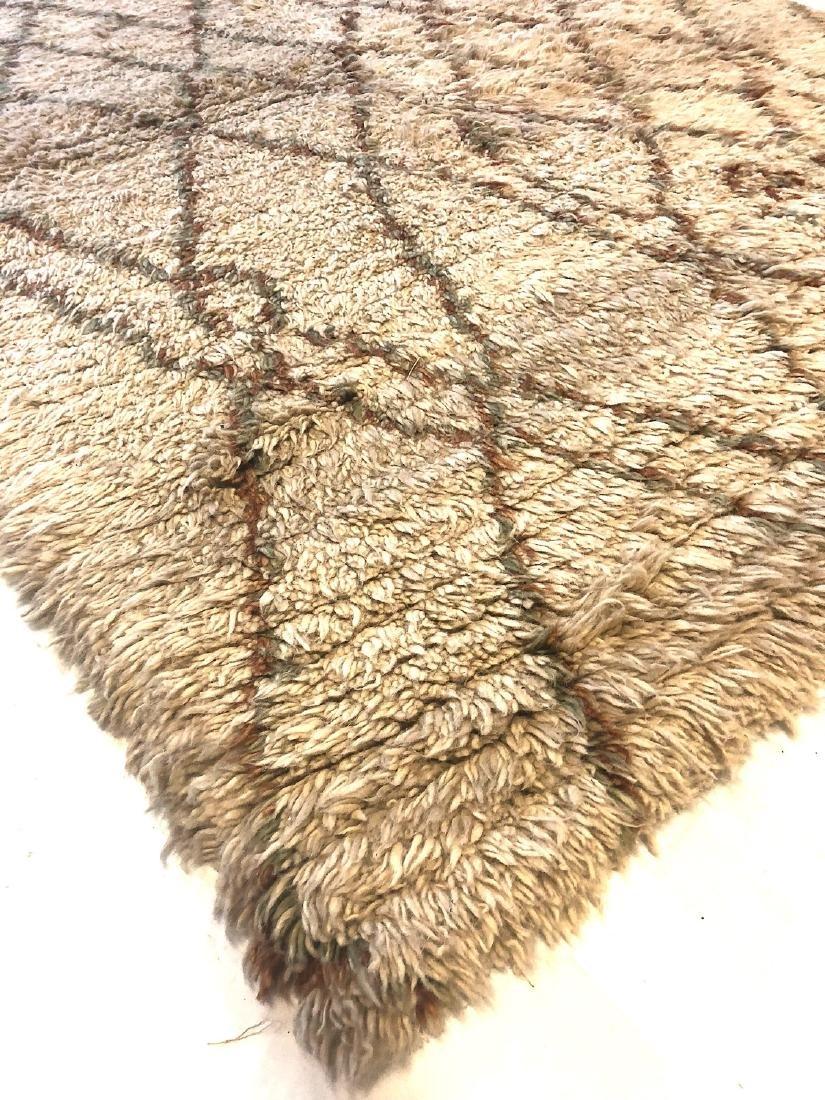 Modern Moroccan Style Shag Rug: 4'11'' x 6'10'' - 3