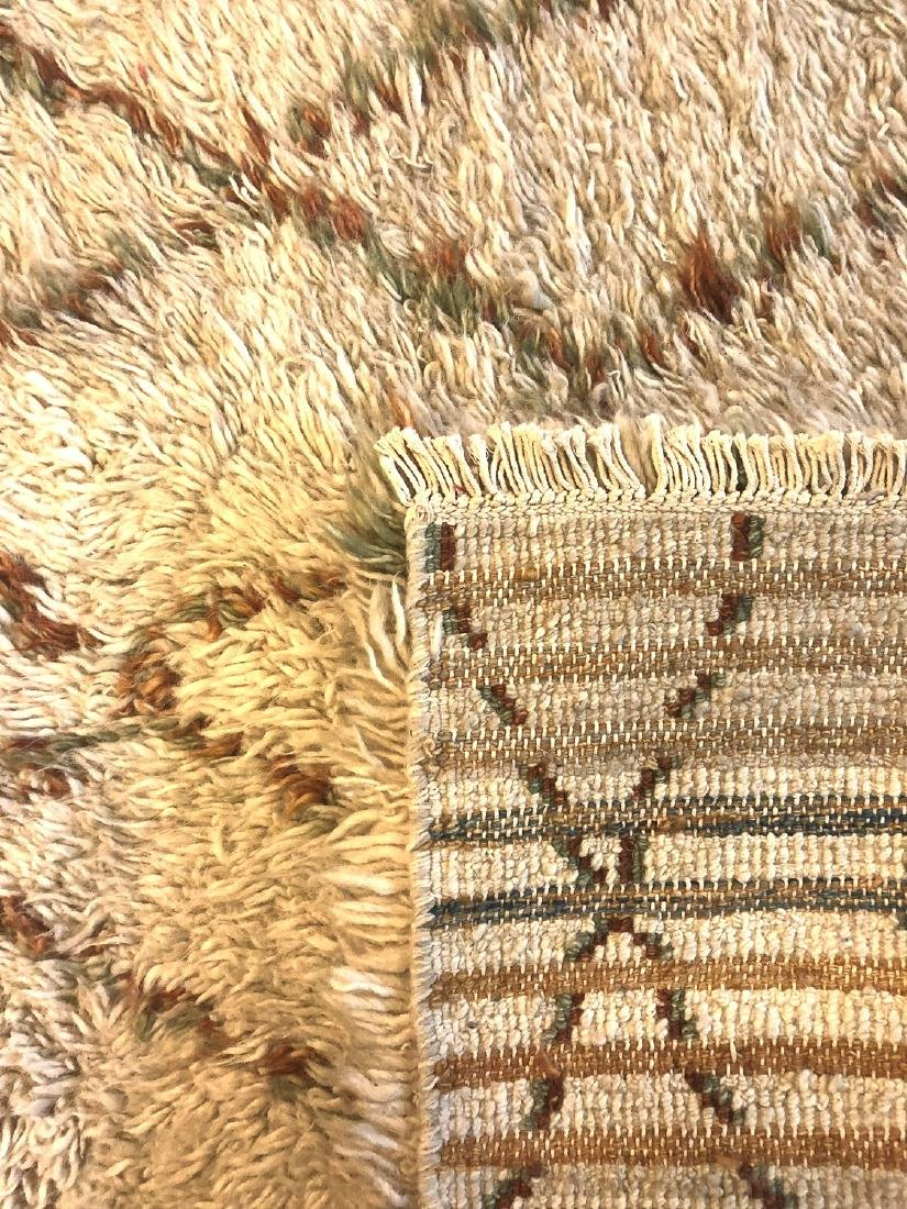 Modern Moroccan Style Shag Rug: 4'11'' x 6'10'' - 5