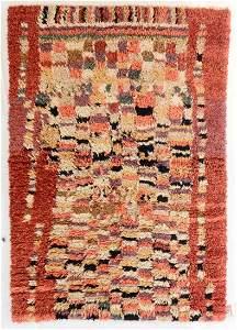 Modern Moroccan Style Shag Rug: 4'10'' x 7'2''