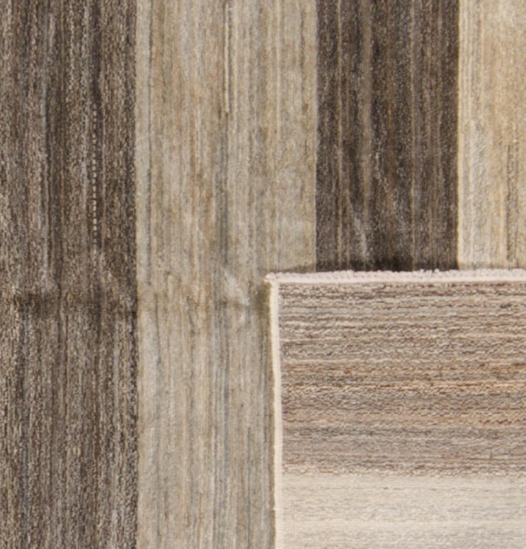Modern Color Field Afghan Rug: 5' x 6'10'' - 2