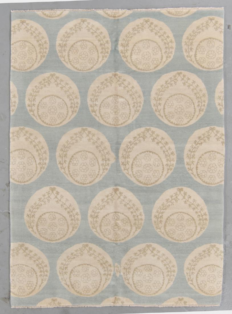Fine Ottoman Style Rug: 5' x 7'2''