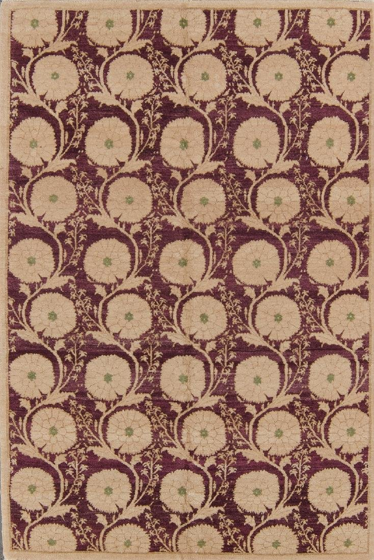 Fine Ottoman Style Rug: 4'1'' x 6'1''