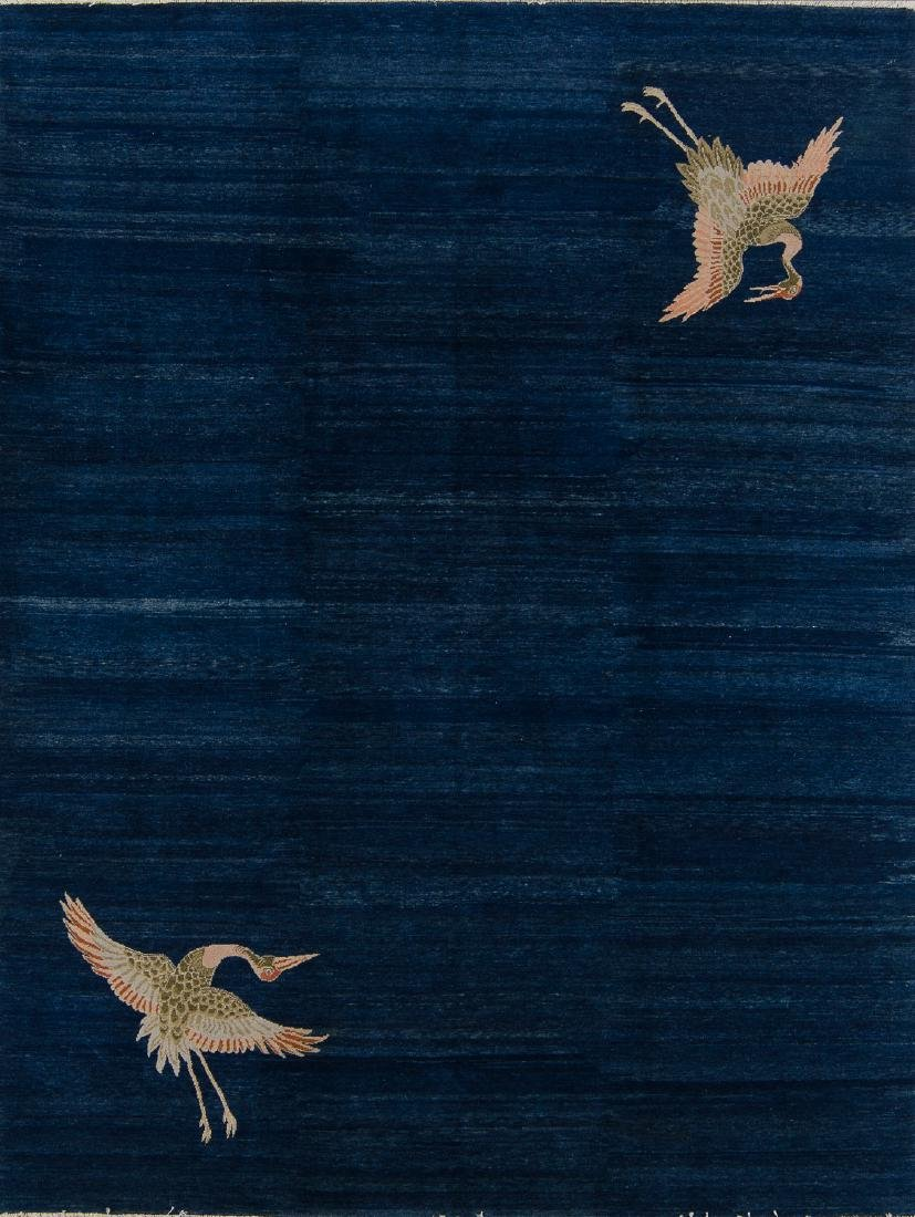 Fine Classical Chinese Rug: 8' x 10'6''