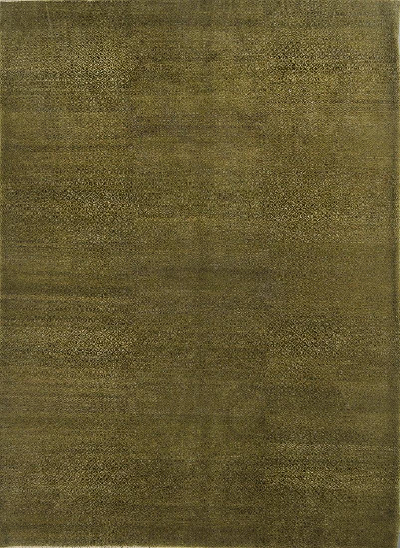 Natural Dye Color Field Rug: 9' x 12'1''