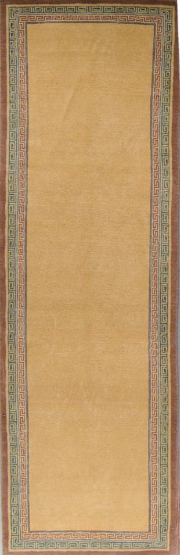 Fine Khotan Style Rug: 3' x 9'7''